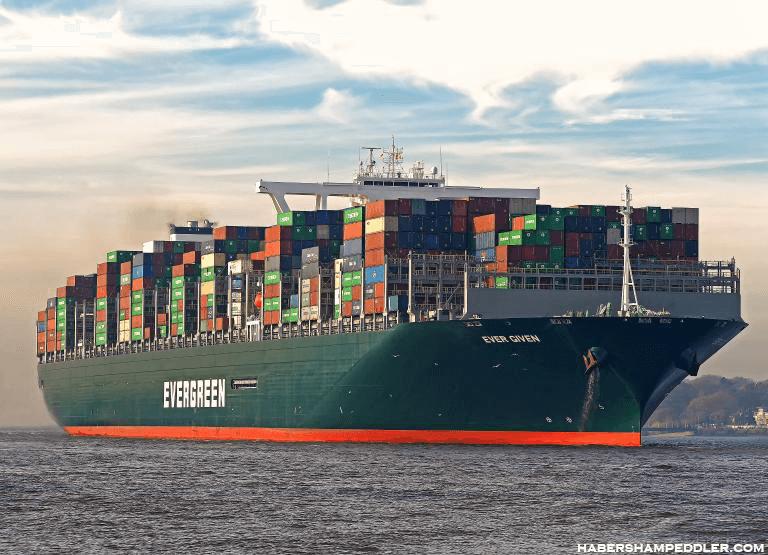 Ship Ever Given นึ่งในเรือคอนเทนเนอร์ที่ใหญ่ที่สุดในโลก กลับมาเดินทางออกจากคลองสุเอซอีกครั้งในวันพุธที่ 106 วันหลังจากถูกขวางทางตอน