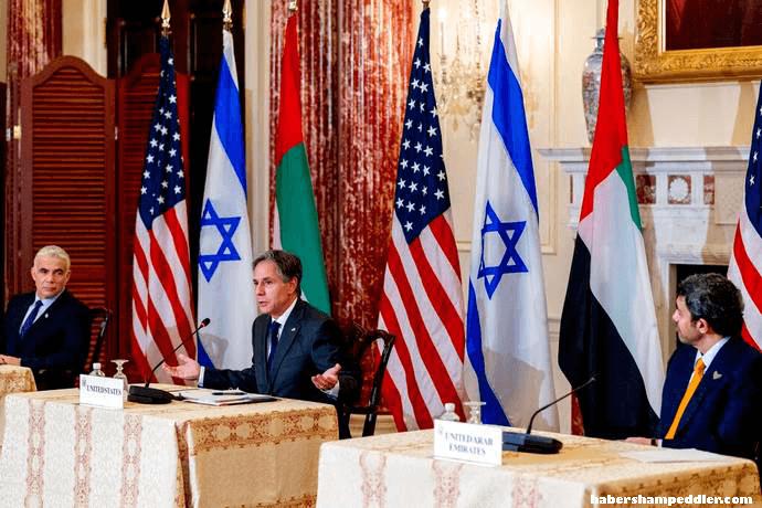 US does not support สหรัฐฯ ไม่ได้ตั้งใจจะสนับสนุนความพยายามใดๆ ในการทำให้ความสัมพันธ์กับประธานาธิบดี บาชาร์ อัล-อัสซาด เป็นปกติ หรือฟื้นฟูเขา